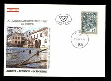 Austria 1987 Industrialized Society FDC #C2693
