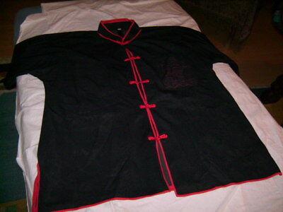 KöStlich Vintage Fasching Oberteil Schwarz Rot Original 1960er Jahre Kleidung Top Zustand Seien Sie In Geldangelegenheiten Schlau
