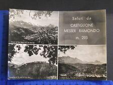 CASTIGLIONE MESSER RAIMONDO (TE) M. 295  SALUTI DALLA LOCALITA' CON VEDUTE 23859