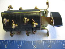 Caterpillar 3n 5976 4 Pole Snap Action Rotary Electro Switch 101904ls 600v