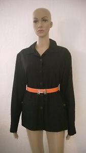 Hermes-Superbe-et-authentique-chemise-veste-en-laine-noire-Neuve-portee-1-x