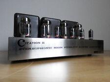 Harmon Kardon Citation II Tube Amplifier Complete Restoration Service