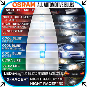Osram Automotive Bulb Catalogue All Bulb Types Performance Styling