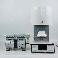 Dental Vacuum Porcelain Furnace Lab Zirconia Ceramic Crowns Oven Touch Screen