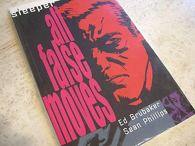 New Book Graphic Novel Sleeper All False Moves Vol 2 Ed Brubaker 2005 9781401202880 Ebay