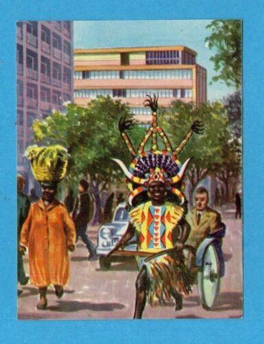 GENTI E PAESI-ED.DELL/'ARTE 1967-FIGURINA a scelta-STICKER at choice-RECUPERATA