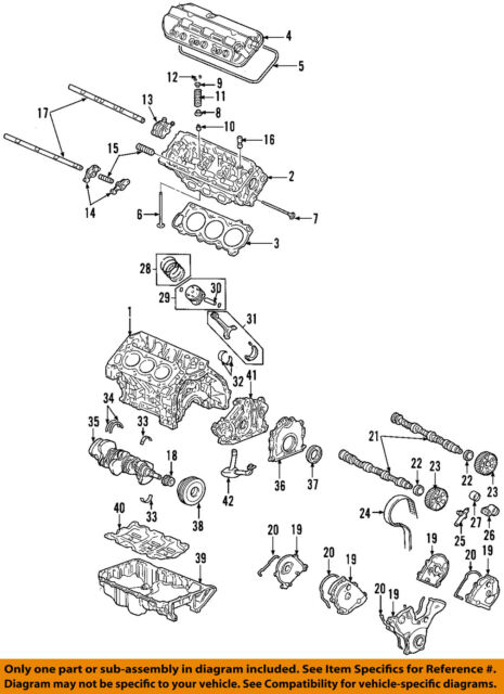 2002-2004 Honda Odyssey 3.5l Left Cylinder Head 12100P8E306 for sale online    eBayeBay