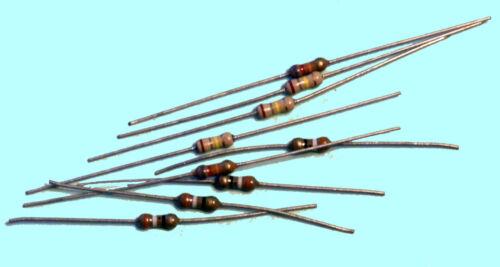 100 each 75 Ohm 1//4 Watt Resistor Universal Generic