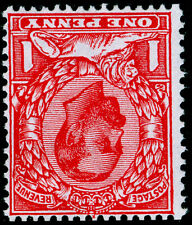 Sg336 SPEC N10b(1), 1d scarlet, LH MINT. Cat £30. WMK INVERTED.