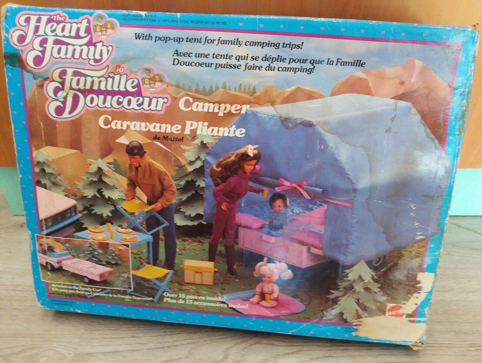 Famiglia cuore carrello tenda Mattel