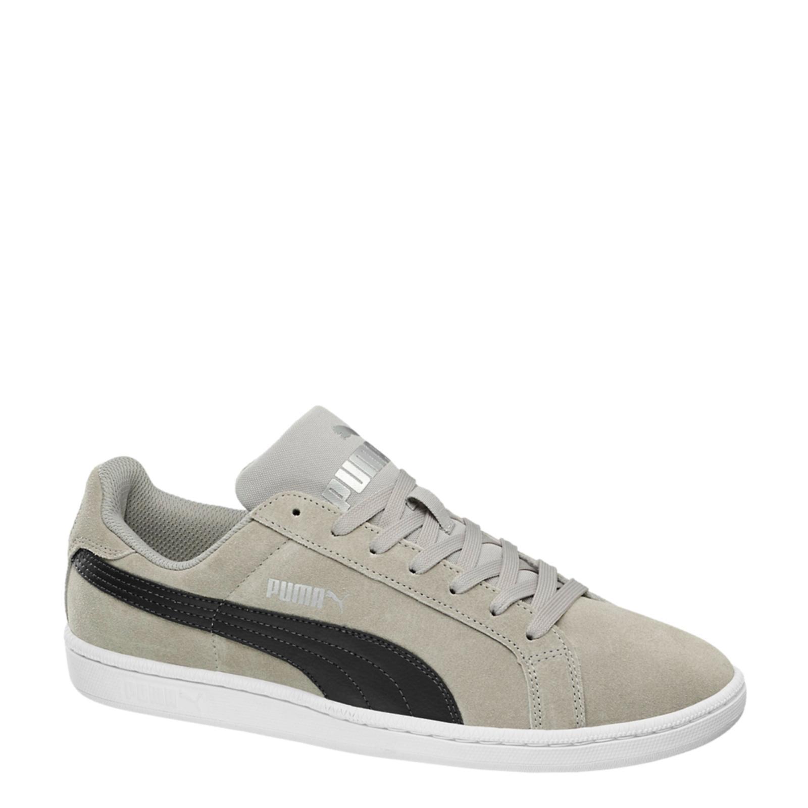 Puma Smash  SD in camoscio grigio scarpe scarpe scarpe da ginnastica 361730 04  moda ddf1ac