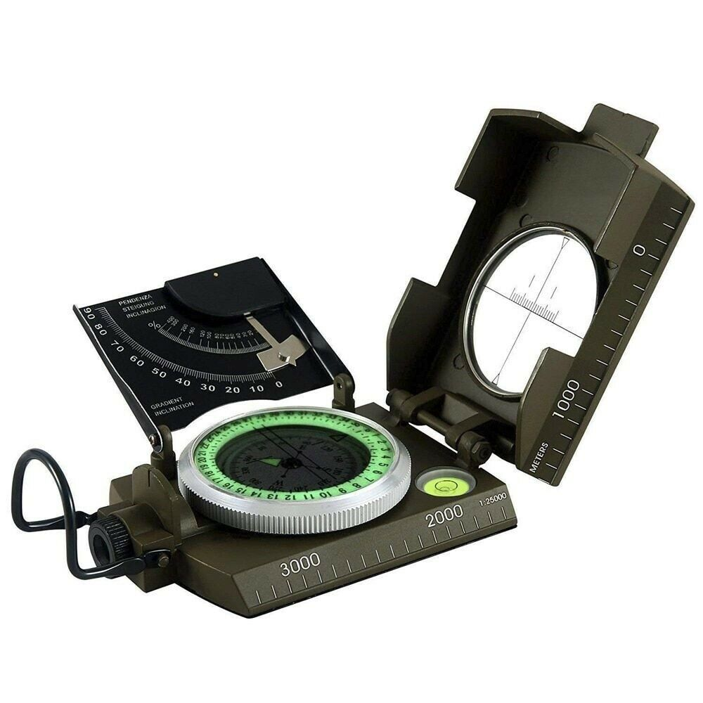 Survival Digital Compass Camping Hiking Multi-Functional Geological Equipment