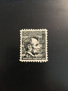 abraham-lincoln-4-Cent-Black-Stamp-Vintage-uncirculated