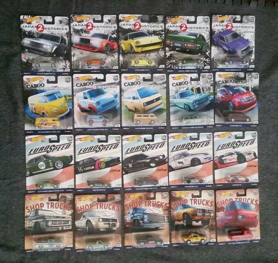 Hot Wheels 2018 Car Culture Lot of 20