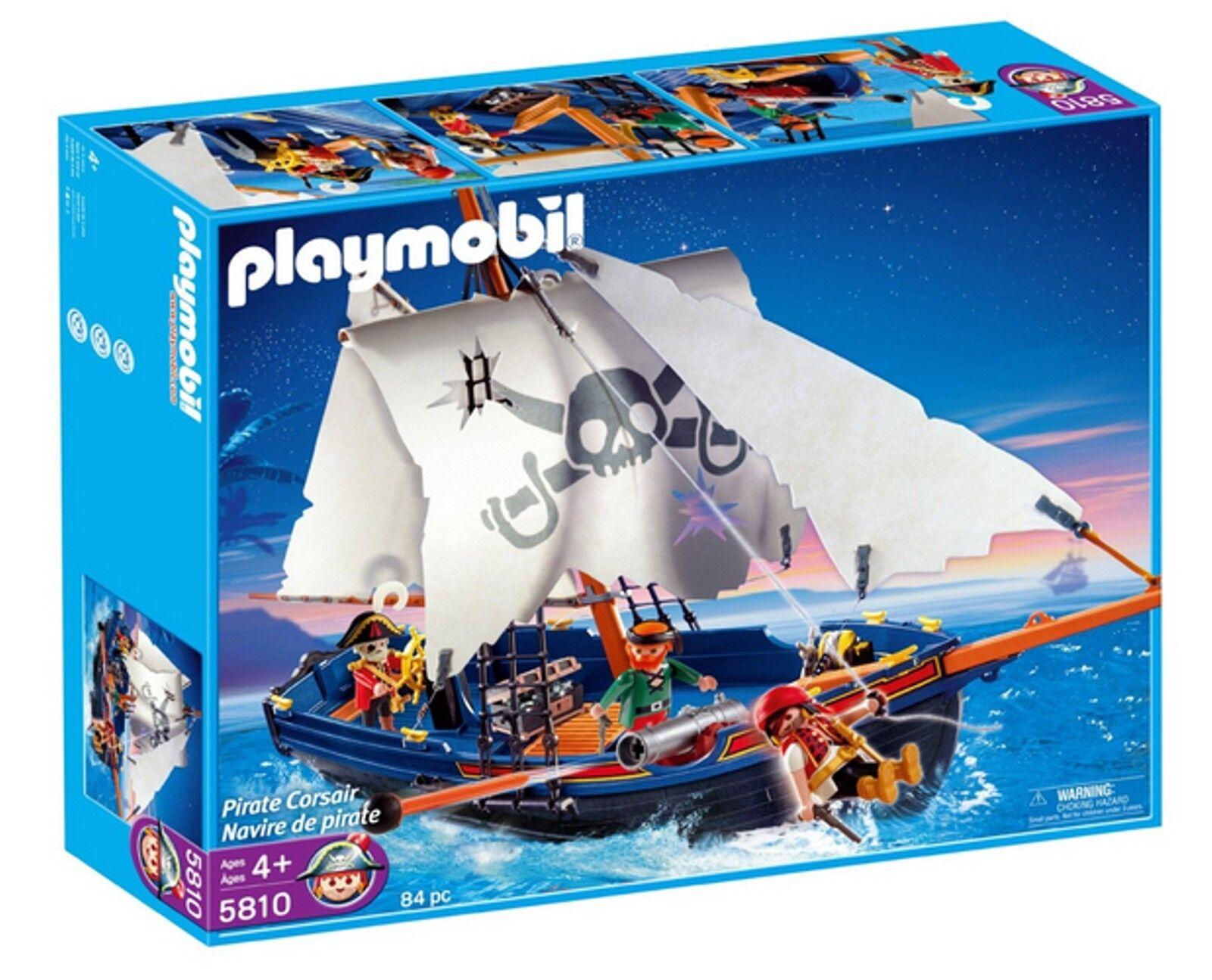 Playmobil 5810 Pirate Corsair Pirate Ship NIB-Mint