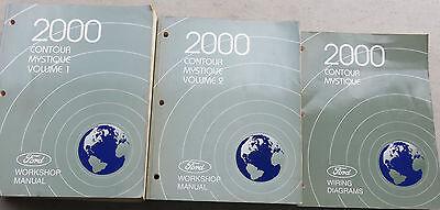 2000 Ford Contour / Mystique Shop Service Repair Manual ...