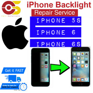 size 40 d5087 e7392 Details about iPhone 6s ,6 ,5s No Backlight Black Dim Screen No Light  Repair Service UK only