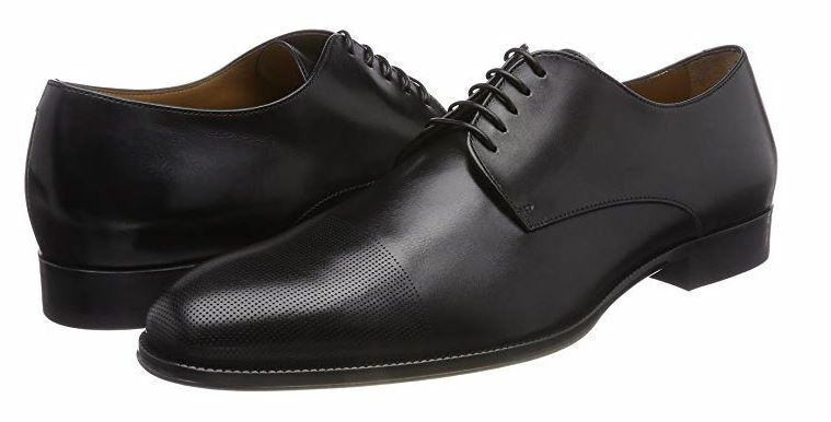Hugo Boss Business men's Cambridge leather shoes size 6.5UK(40) - Made in