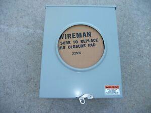 New Durham 200 Amp Meter Box 600 Vac 1 Phase 3Wire Enclosure