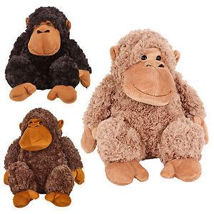 Doux Calin Furry Singe Jouet En Peluche Ourson Animal Enfants Jouets Cadeau Noel