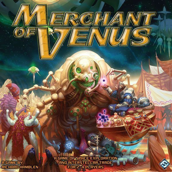 Fantasy Flight Boardgame Merchant of Venus Box Nuovo