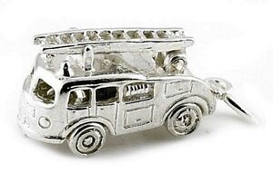 STERLING-SILVER-MOVABLE-FIRE-ENGINE-WITH-LADDER-CHARM