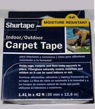 Duck 286373 Indoor//Outdoor Carpet Tape 1.41-Inch x 42 Feet White