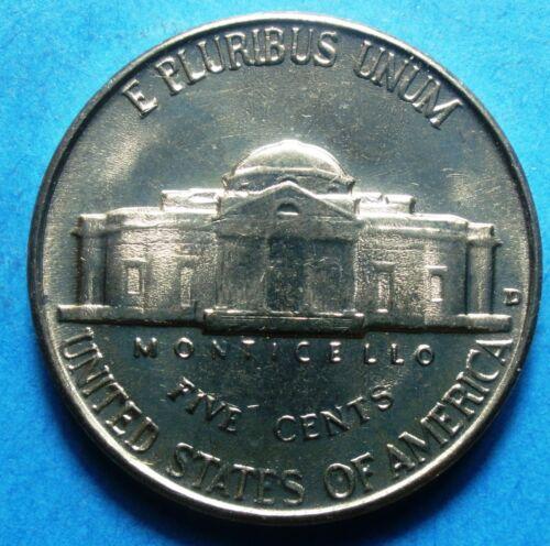 1957-D BU Jefferson Nickel   Brilliant Uncirculated  nice Steps free shipping