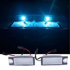 2 X License Plate Light LED 12V Car Styling Lamp for Volvo V70 XC70 S60 S80 XC90