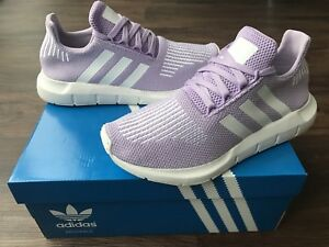 54cf1eec701d3 Image is loading ADIDAS-Swift-Run-Women-039-s-Trainers-Purple-