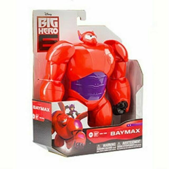 Disney Big Hero 6 Baymax 10 Action Figure Bandai 2014 Armored Suit 38661 For Sale Online Ebay