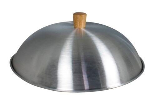 "32cm for 14/"" Wok Lightweight Aluminium Dome Swift Spice Aluminium Dome Wok Lid"
