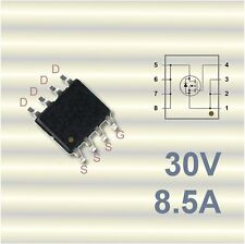 3 x FDS8884 Leistungs-MOSFET N-Channel 30V 8,5A SO8