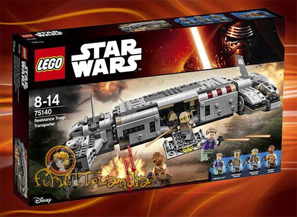LEGO 75140 STAR WARS RESISTANCE TROOP TRANSPORT NEW MISB