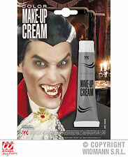 New Dracula Makeup Cream Make up,Tube GREY,Horror Vampire Halloween Fancy Dress