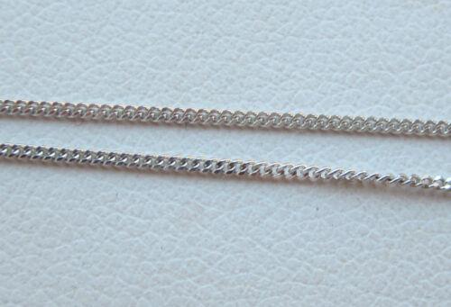 New Diamond Solitaire 9ct White Gold Pendant Necklace /& Gold Chain £120 Freepost