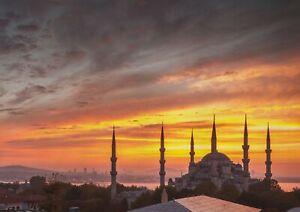 A1-Hagia-Sophia-Poster-Art-Print-60-x-90cm-180gsm-Mosque-Turkey-Cool-Gift-13054