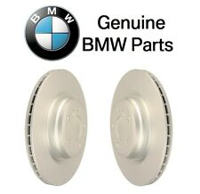 NEW BMW i3 14-16 Set of 2 Front Vented Brake Disc Rotor Pair Genuine 34116866293