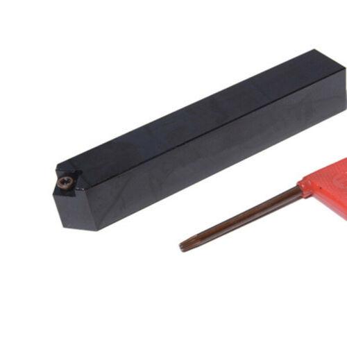 1p SCMCN1010H09-100 CNC Lathe Arbor Tool CuttingToolholder For CCMT09T3 Insert