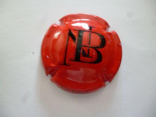 capsule BOLAND NOMINE rouge et noir à saisir NOUVELLE NB au centre