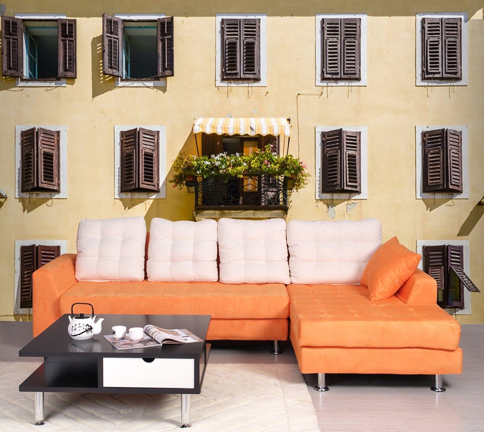 3D Haus Fenster Topfpflanzen 80 Tapete Wandgemälde Tapeten Bild Familie DE Lemon