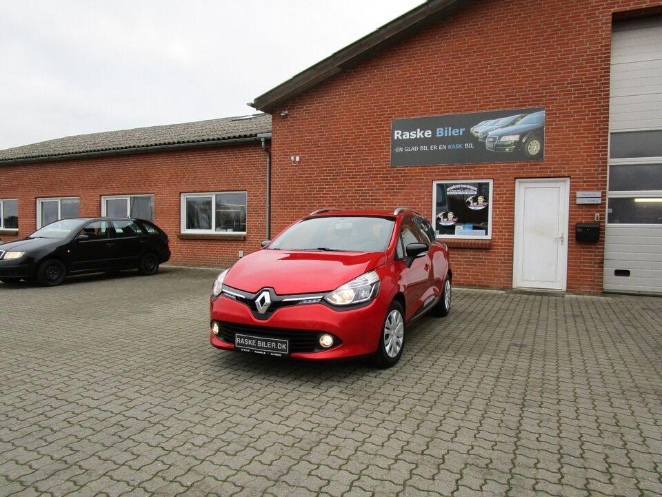 Renault Clio IV 0,9 TCe 90 Expression ST Benzin modelår 2014