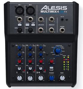 Alesis-Multimix-4-USB-FX-Home-Recording-Studio-Mixer-Audio-Interface-Effects