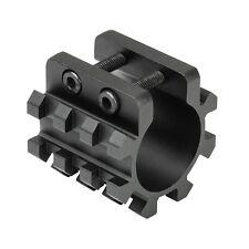 NcSTAR 12G Shotgun Magazine Tube Tri-Rail Weaver Mount Laser Flashlight MT12G