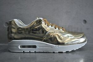 best service c6753 dd963 Image is loading Nike-Air-Max-1-SP-034-Liquid-Gold-