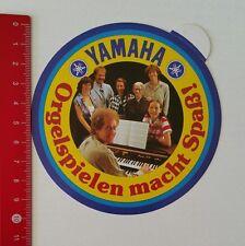 Aufkleber/Sticker: Yamaha - Orgelspielen macht Spaß (15021748)