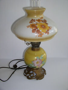 Vintage Electric Hurricane Table Lamp Ebay
