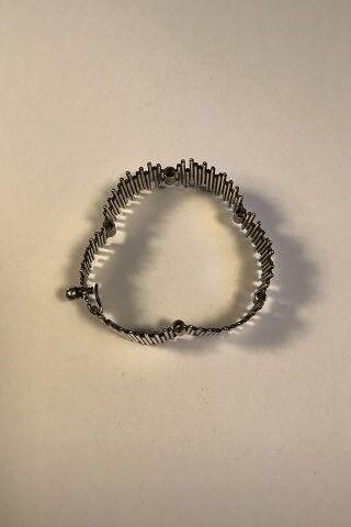 Andet smykke, sølv, Bent Knudsen Sterling Sølv Leddelt