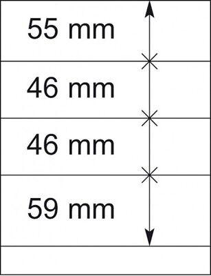 10er-packung Strukturelle Behinderungen Zubehör Lindner 802404p T-blanko-blätter Briefmarken