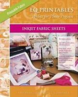 Eq Printables Inkjet Fabric Sheets, New, Free Shipping on Sale